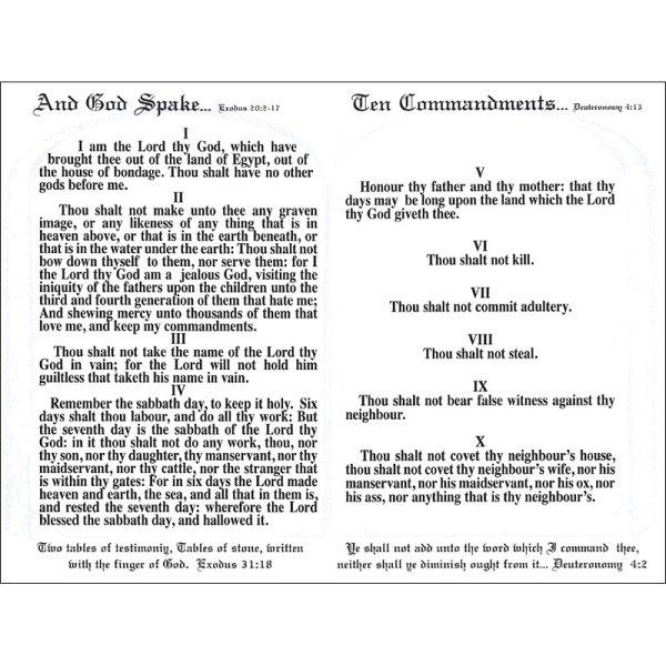 10 commandments # 20