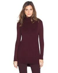 Turtleneck Tabard Sweater