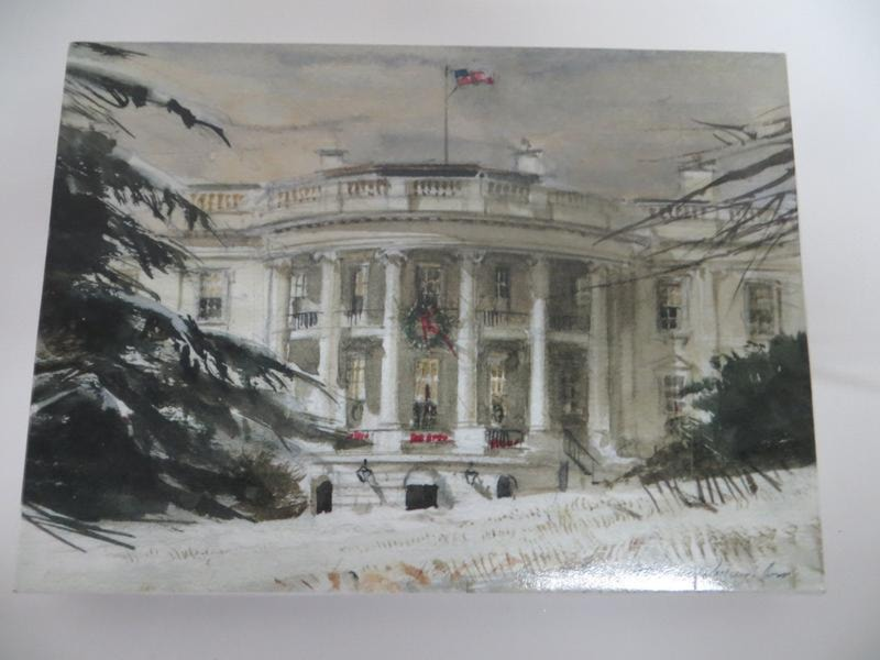 Notecards With White House Image By TW Jones