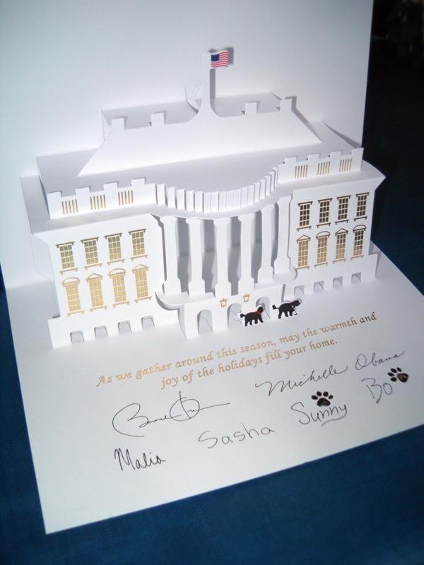2013 Barack Obama Christmas Card
