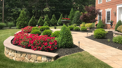 Front Yard Landscaping Ideas Pictures Chester Berks And Montgomery County Whitehouse Landscaping
