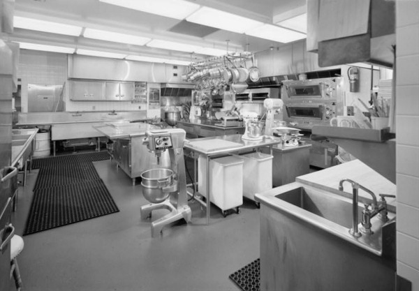 White House Kitchen 1992 Looking Southeast Habs