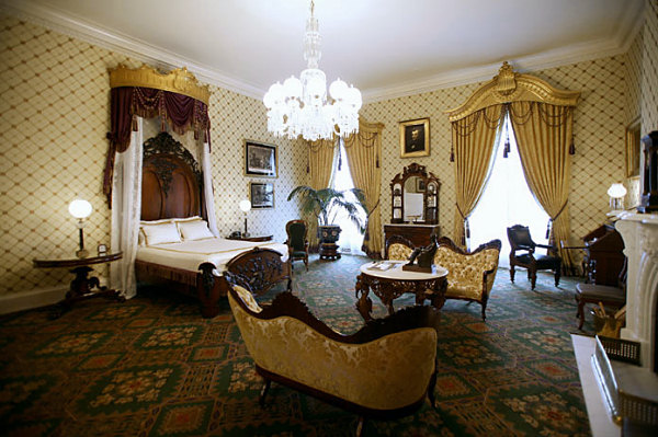 Image result for the lincoln bedroom, the white house