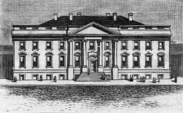 Image result for White House Construction
