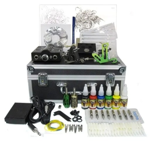 Apprentice tattoo kit and tattoo starter kit