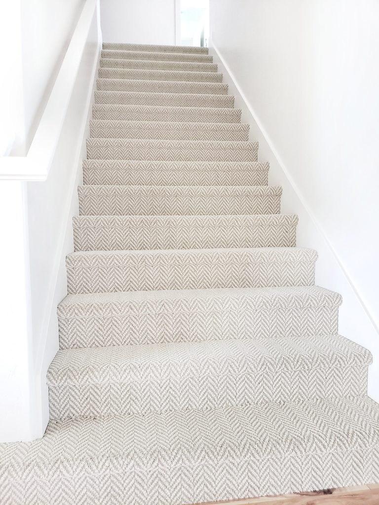 Stanton Carpet Stair Update White Lane Decor   Most Durable Carpet For Stairs   Stair Runners   Tile   Berber Carpet   Stain Resistant   Hardwood Flooring