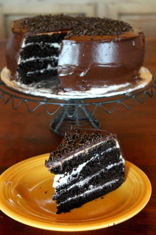 Four-Layer Chocolate Cake 3