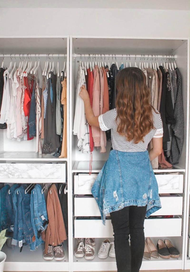Was ziehe ich heute an? 3. Ordnung schaffen im Kleiderschrank