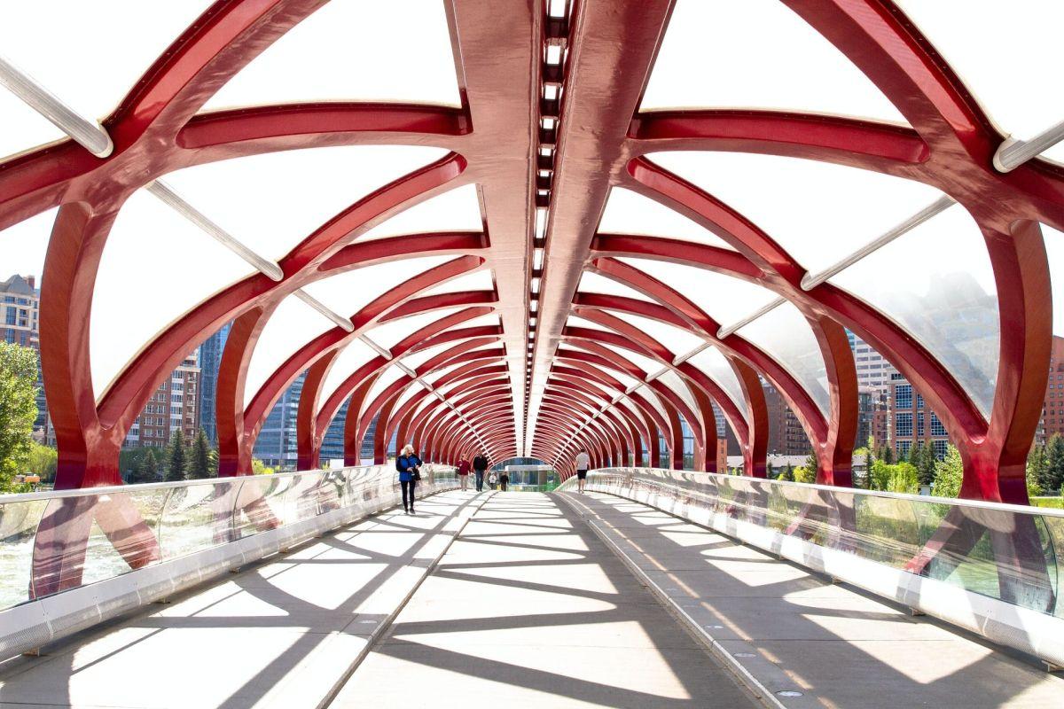 Bridge in Calgary, Canada