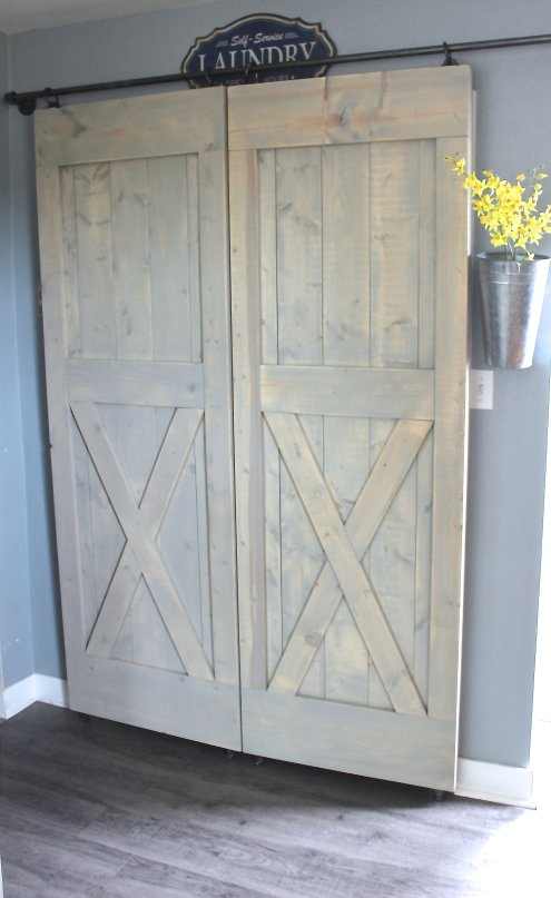 Cheap Kitchen Renovation, Sliding X Barn Doors With Hardware, Closet Doors