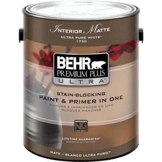 Behr Premium Plus Ultra Paint, Interior Matte