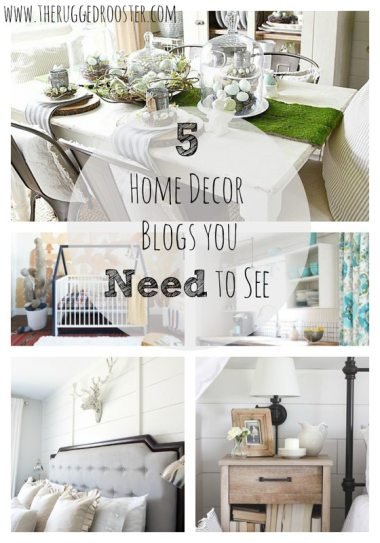 5 home decor blogs you need to read