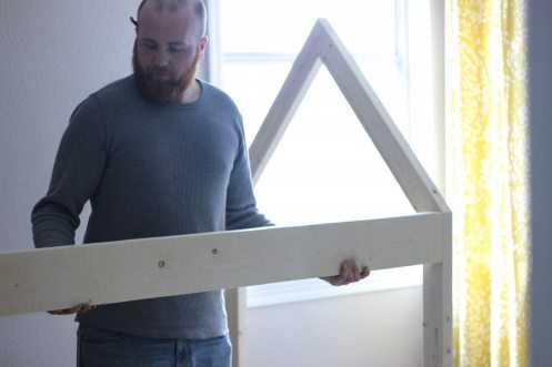 Build a House Bunk Bed, Bunk Bed Tutorial, Bed Plans