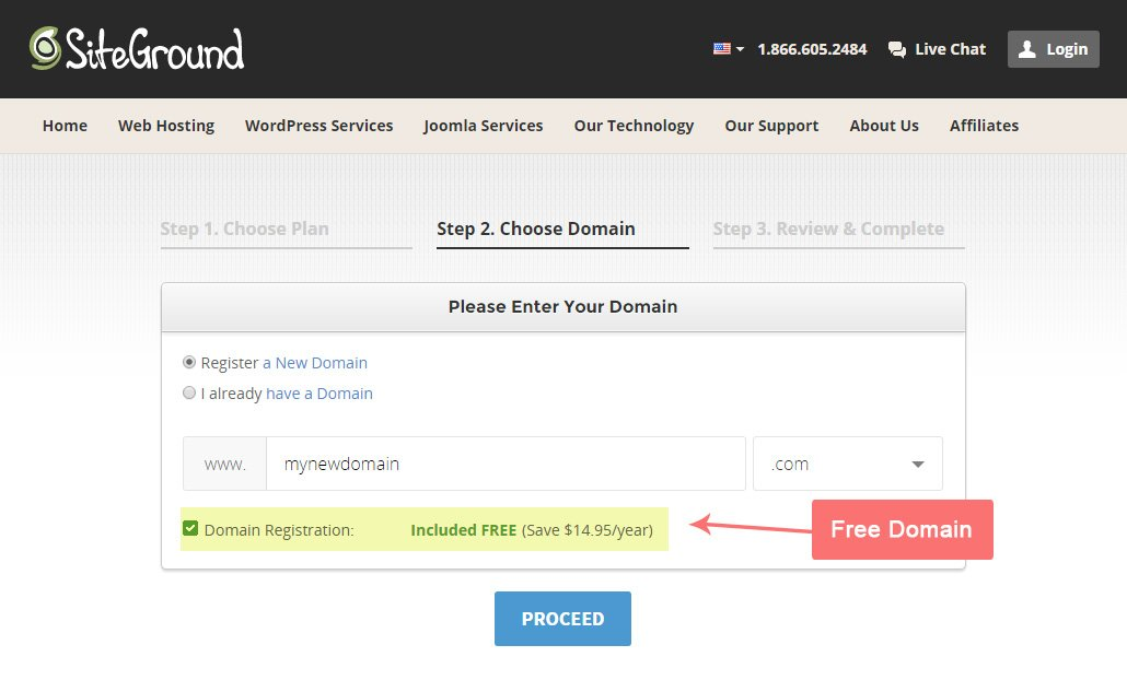 Transferring Domain through siteground