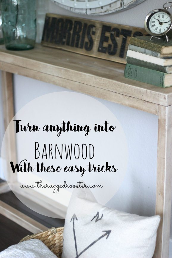 Turn Anything into Barnwood