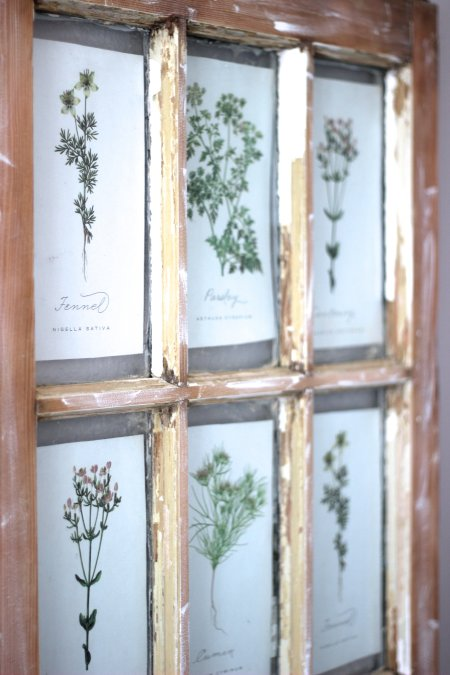 DIY Salvaged Window and Free Printables