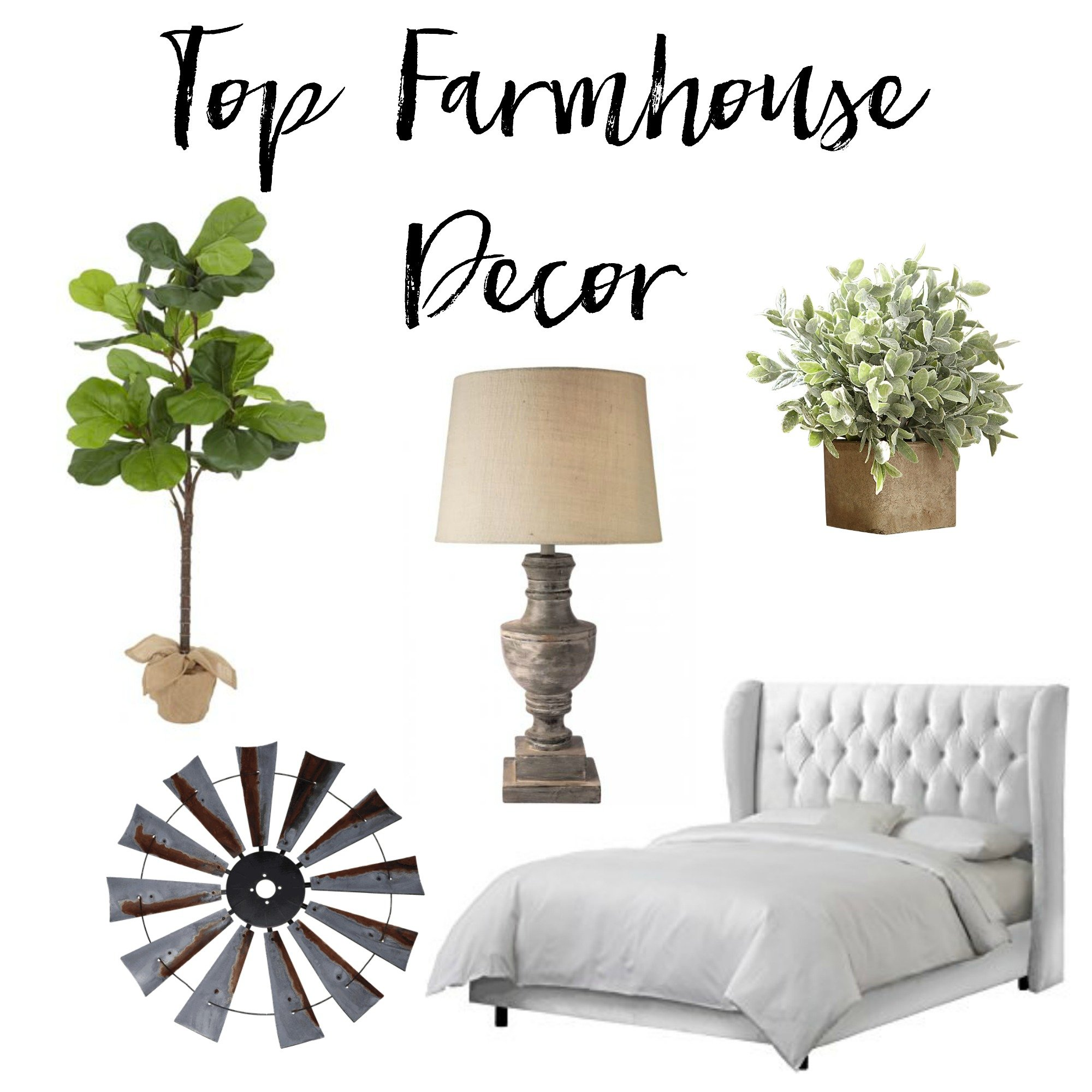 Top Farmhouse Decor from 2016. Pieces I wish I had bought in 2016 but I never did www.whitepicketfarmhouse.com