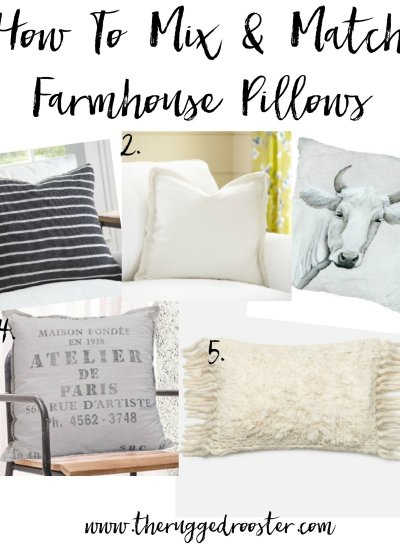 Best Farmhouse Pillows & How To Pick Em'.