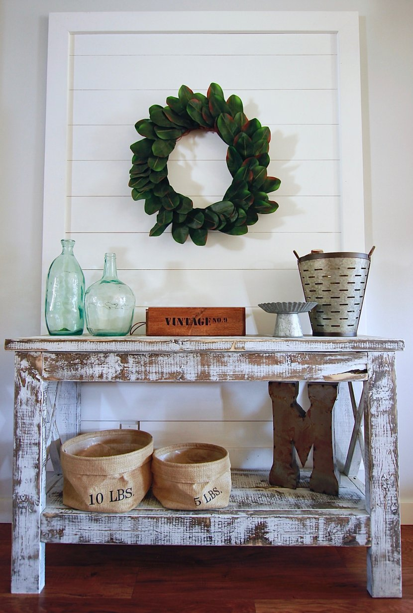 DIY SHIPLAP DECOR WALL, costs literally under 20 dollars and under a hour of time. www.whitepicketfarmhouse.com