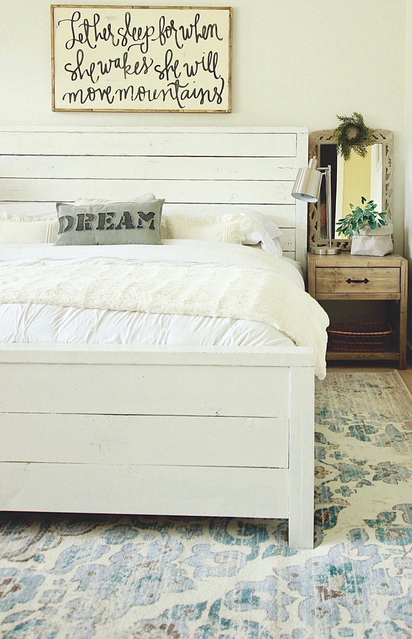 white on white on white. How we transformed our home from the most colorful, outdated home to the trendiest home on the block www.whitepicketfarmhouse.com #whiteonwhiteonwhite