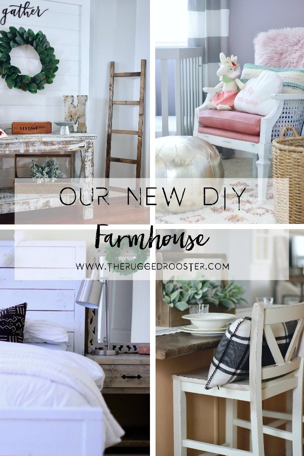 Our New DIY Farmhouse. Follow Our Progress as we make a beautiful DIY Farmhouse from Scratch! www.whitepicketfarmhouse.com