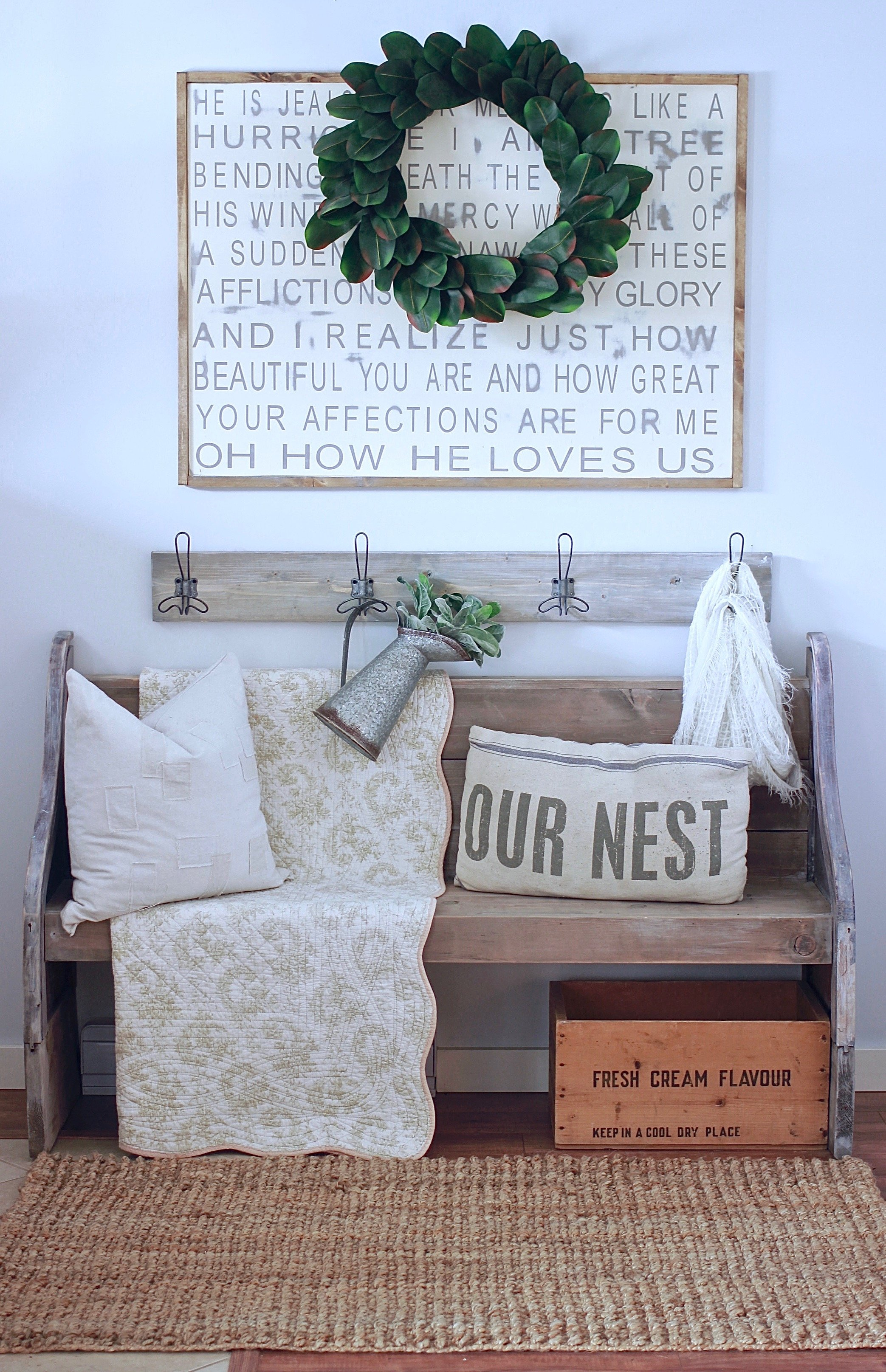 How It All Started, How The Rugged Home Blog Came To Be www.whitepicketfarmhouse.com Home Decor and DIY Blog