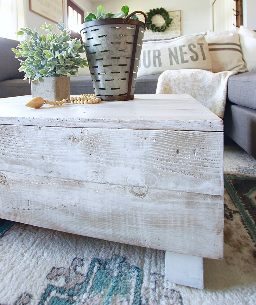Get The Chippy Vintage Antique Look With Super Simple techniques and steps. Tutorial on the blog. Old Barn Milk Paint www.whitepicketfarmhouse.com
