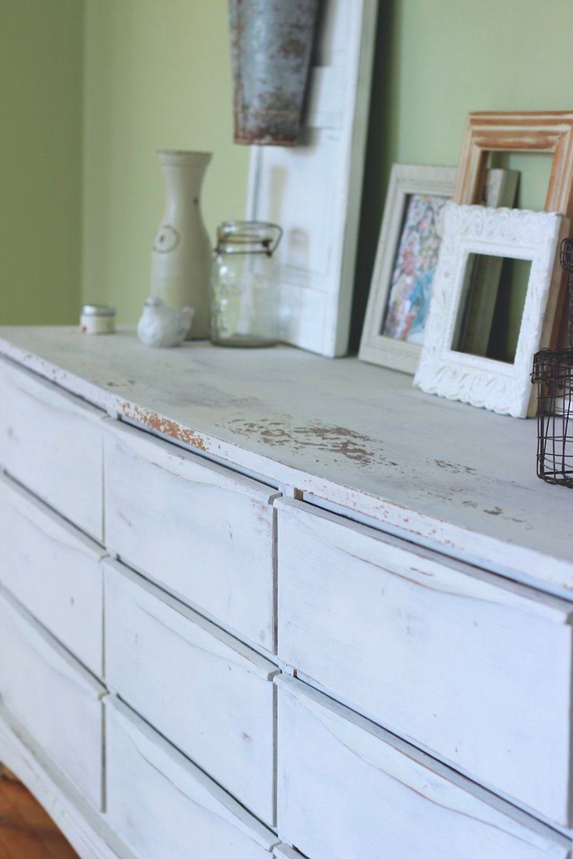 Chippy Free Console, Our Miss Mustard Seed Painted Farmhouse Buffet