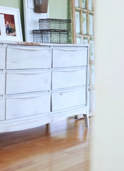 Free Milk Painted Sideboard