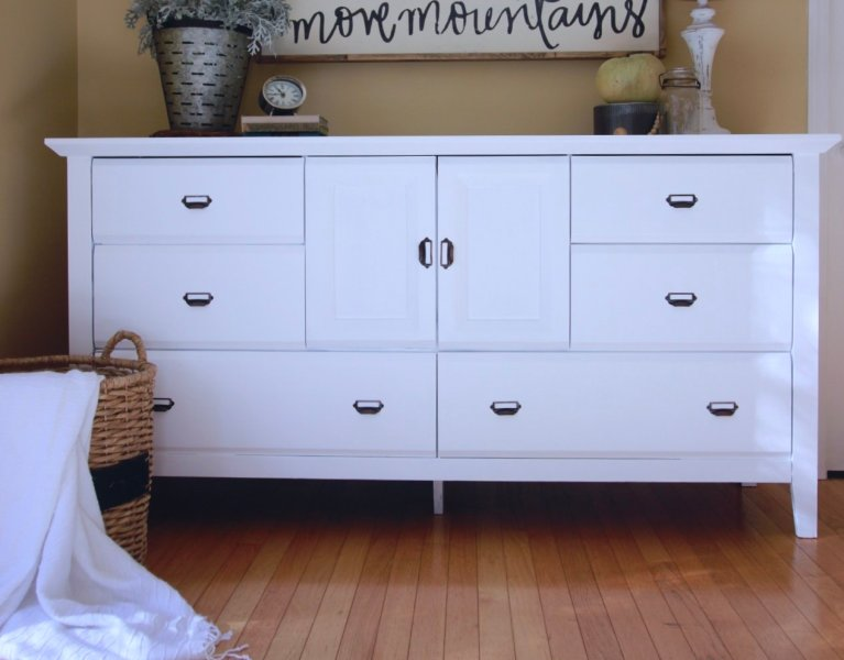 How To Paint Laminate & MDF Furniture