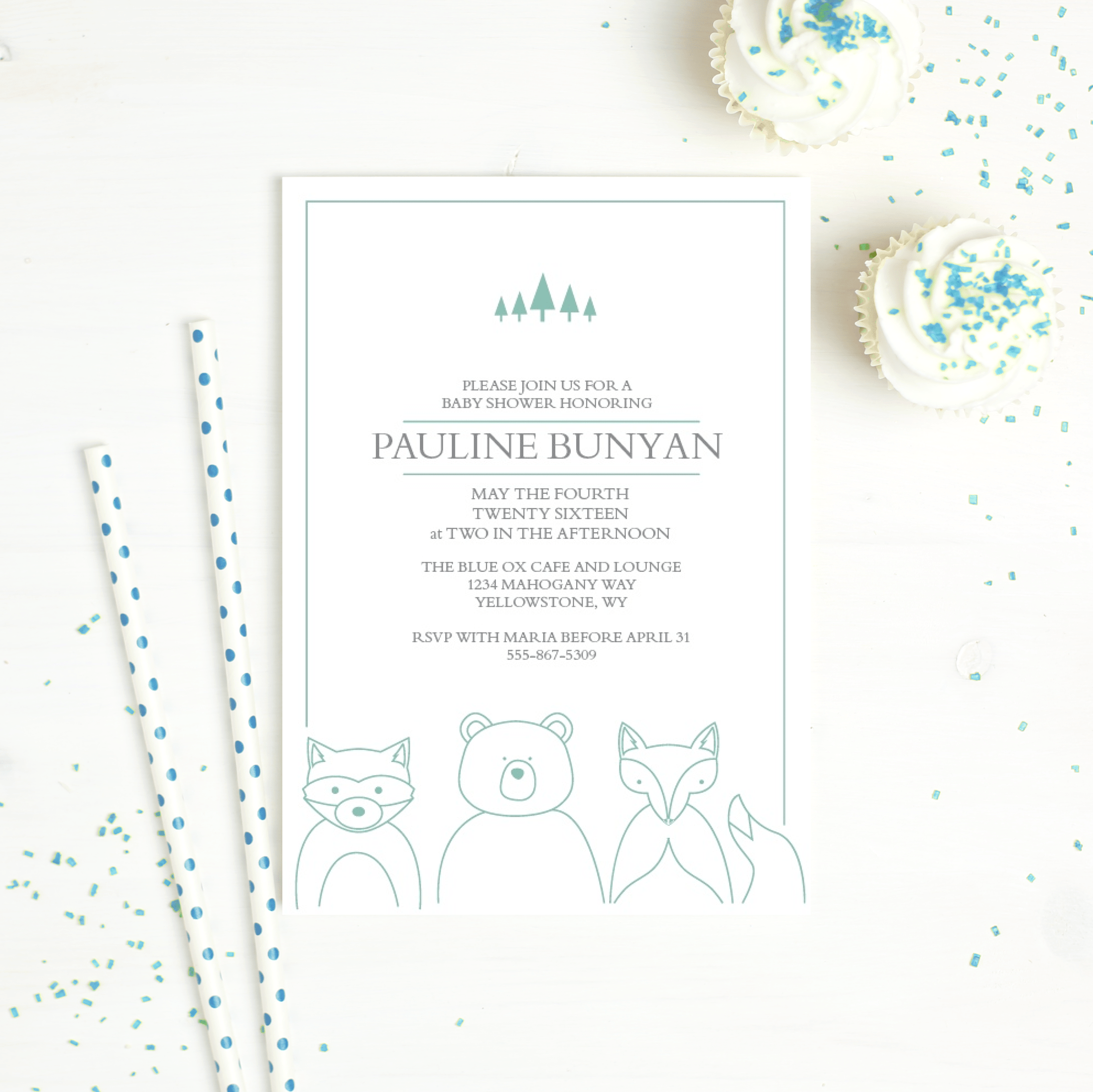 Beautiful Stationery by Basic Invite