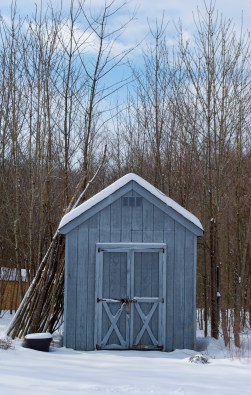 The garden shed