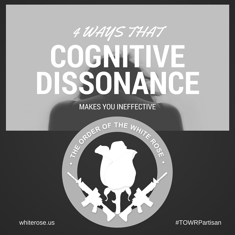 4 Ways That Cognitive Dissonance Makes You Ineffective