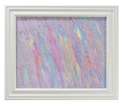 Abstract in Pastels by Heather Miller | WhiteRosesArt.com