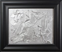 Silver Abstracted by Heather Miller | WhiteRosesArt.com