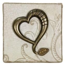 A Heart of Antique Gold (WhiteRosesArt.com)