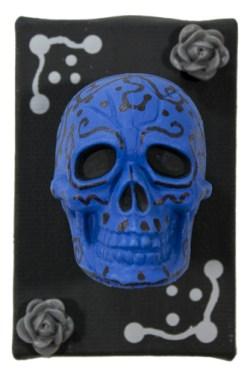 Blue Muertos III by Heather Miller | WhiteRosesArt.com