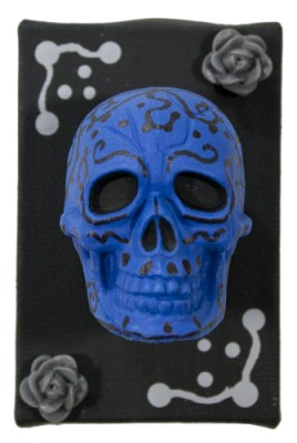 Blue Muertos III by Heather Miller | WhiteRosesArt.com