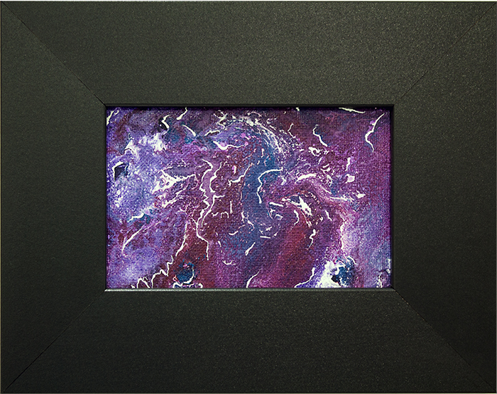 Purple Storm by Heather Miller of WhiteRosesArt