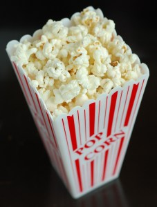 Movie Popcorn. 10 Things that make me Happy!
