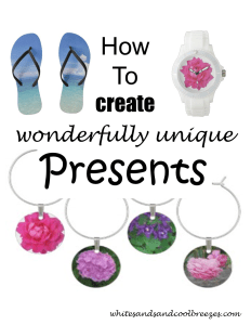 How to create wonderfully unique presents! Know someone who's difficult to buy for? Check out Zazze or Shutterfly for great one-of-a-kind presents! #presents #giftsforhim #giftsforher