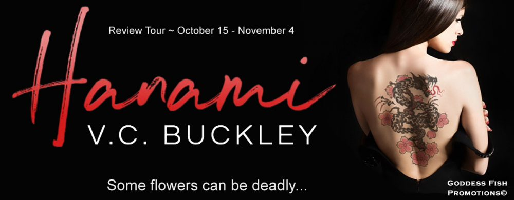 Review of Hanami (#1) and Hazakura (#2) by V.C. Buckley (plus a $10 Giveaway!)