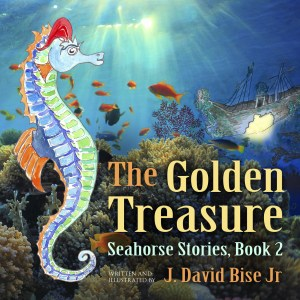 Cover: The Golden Treasure (Seahorse Stories) (Volume 2)