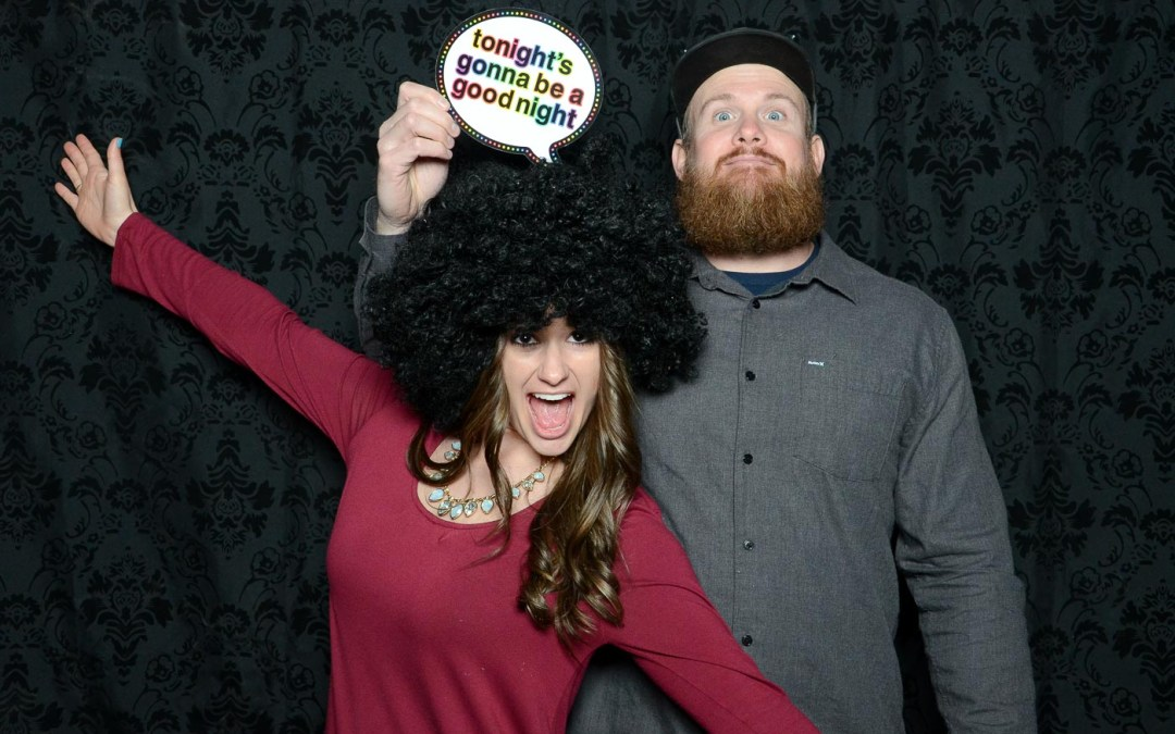 Scott and Brianna's Photo Booth – From the Farm