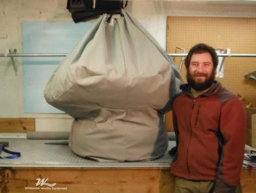 Mushroom Gear Bag 1st Generation Scale