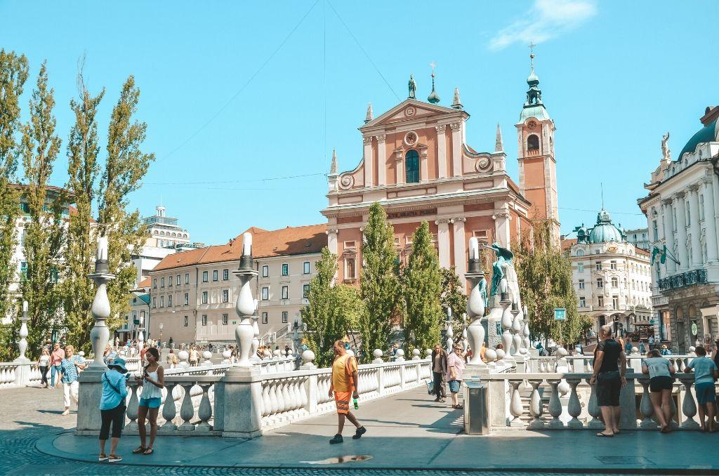 Trzy Mosty Lublana