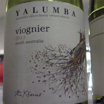 Y Series Yalumba viognier 2012