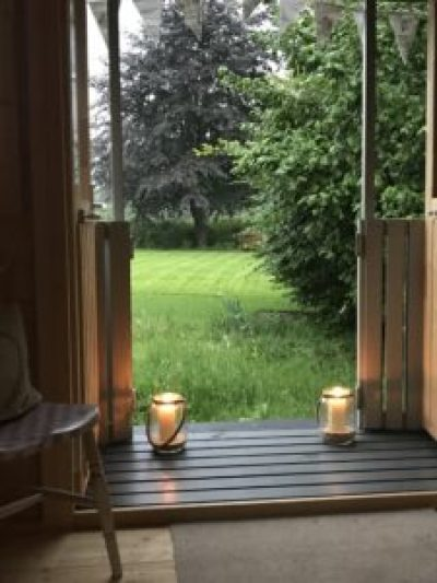 night time blogging at the Shepherds Hut 1 e1504076216350 225x300 - Candles - Vintage and Thrifty Styling for the Home