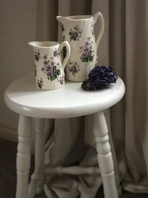 bar stool jugs and jewellery 225x300 - Bar Stools - up-cycling and alternative uses around the home