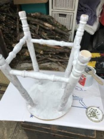 bar stool priming e1515401468107 225x300 - Bar Stools - up-cycling and alternative uses around the home